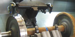 Radsatzdrehmaschine nach Digitalisierung